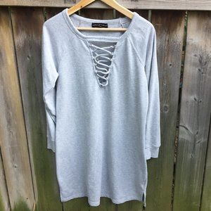 Almost Famous grey tunic - size 2X